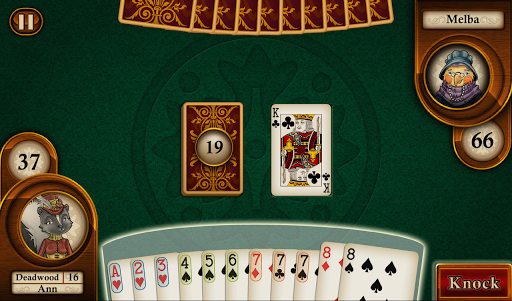 Aces Gin Rummy - screenshot