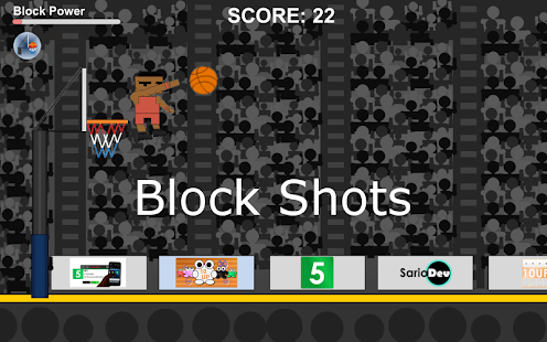 Rejected Basketball - screenshot