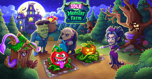 Idle Monster: Happy Mansion in Click Away Village For PC