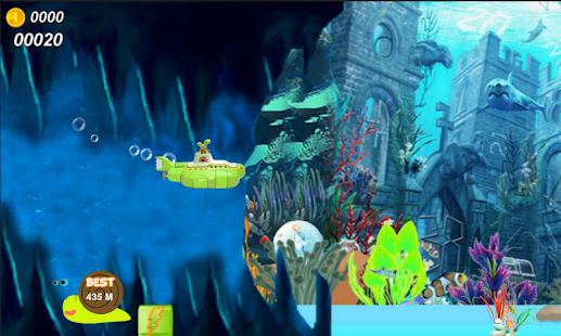 флеш игра-подводная лодка