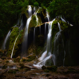 Beusnita waterfall by Cristian Resiga - Nature Up Close Water