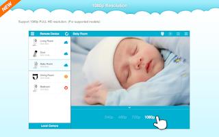 Screenshot of mydlink Lite