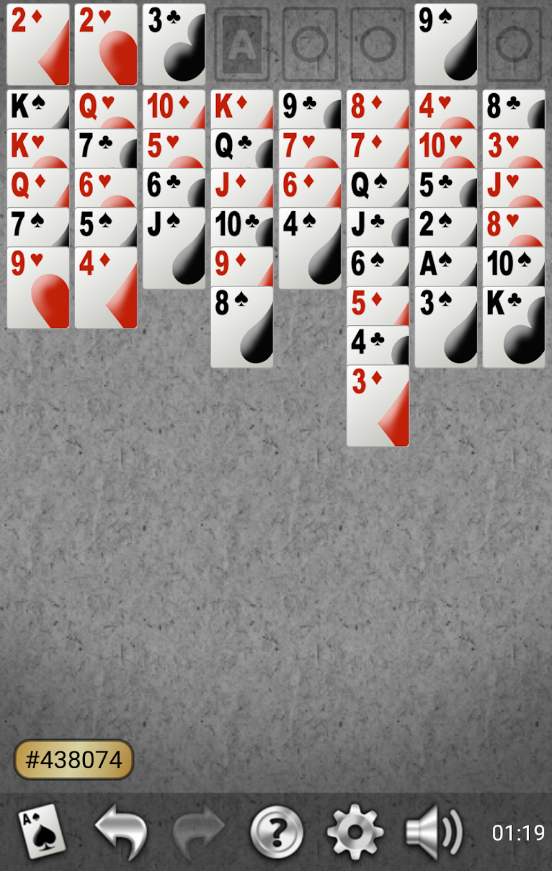 Yukon Gold Solitaire Screenshot 3