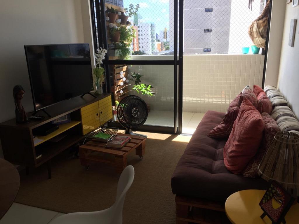 Apartamento com 3 dormitórios para alugar, 61 m² por R$ 1.163/mês - Bessa - João Pessoa/PB
