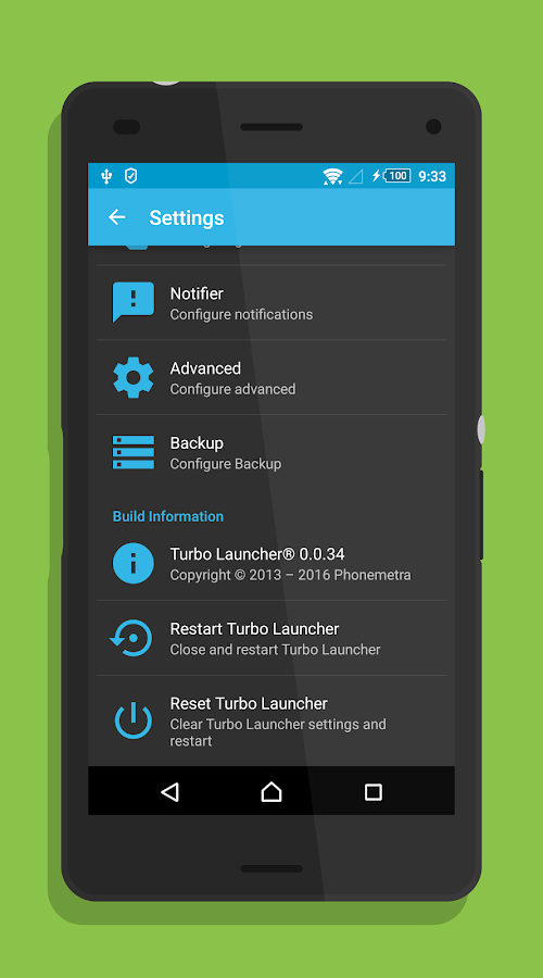 Turbo Launcher® 2017 Screenshot 2