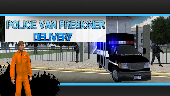 Police Van Prisoner Delivery - screenshot