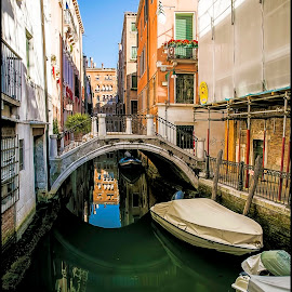 Venezia by Jana Vondráčková - City,  Street & Park  Street Scenes