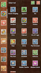 Postage Stamp Theme Icon Pack- screenshot thumbnail