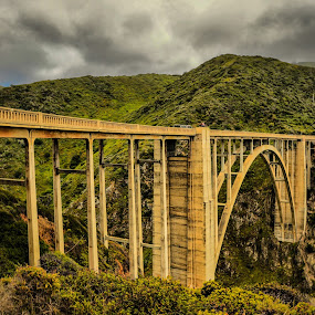 Bixby Historic Bridge by Jayasimha Nuggehalli - Buildings & Architecture Bridges & Suspended Structures ( bridge )