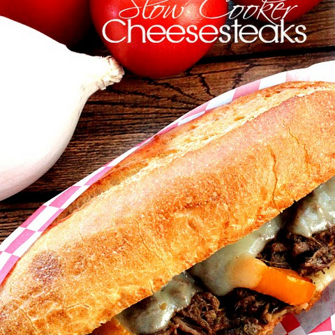 Slow Cooker Cheesesteak
