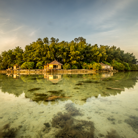Island Oasis by SooSing Goh - Landscapes Travel ( macan, indonesia, jakarta, paradise, pulaumacan, island )