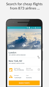 Cheap Flights & Airline Ticket APK screenshot thumbnail 1