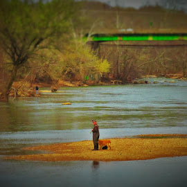 A Man And His Dog by Brant Stevenson - Sports & Fitness Other Sports