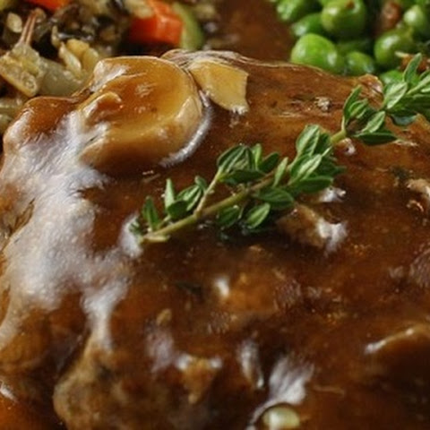 From Scratch Salisbury Steak with Mushrooms