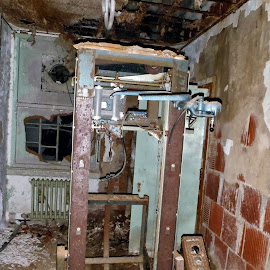Ghost Machine by Dave Bayles - Buildings & Architecture Other Interior ( building, haunted, abandoned )