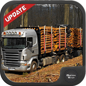 Wood Cargo Transporter 3D for PC-Windows 7,8,10 and Mac