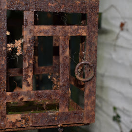Rusted by John Martin - Artistic Objects Other Objects ( lantern, rusted, weird, odd, rust )
