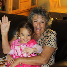 Nana always happy when she's with Arianna!! by Priscilla Renda McDaniel - People Family ( life is good!, happy, 2 yrs old, granddaughter, nana, smiling )