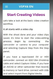 Learn for Corel Video - screenshot