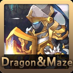 Cover art DAM (Dragon & Maze)