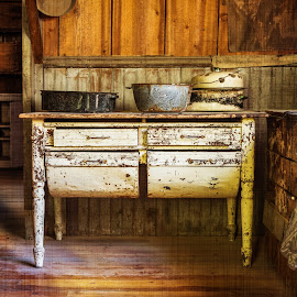 by Mark Franks - Buildings & Architecture Other Interior ( montana, ghost town, kitchen )