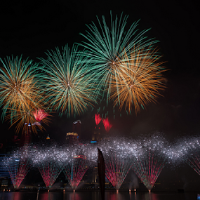 Celebrating 50th year of Independance  by Kean Low - Uncategorized All Uncategorized ( fireworks )