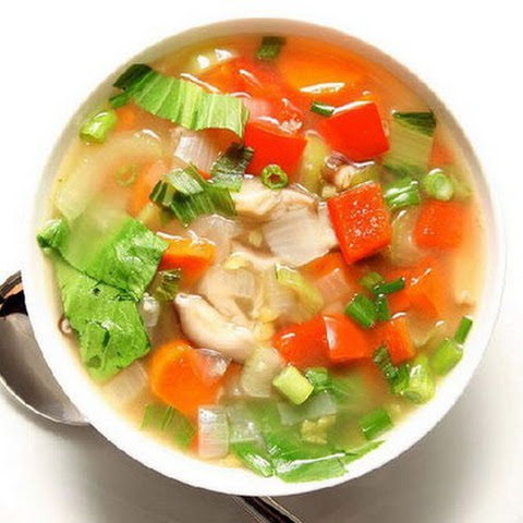Slimming soup. Diet menus