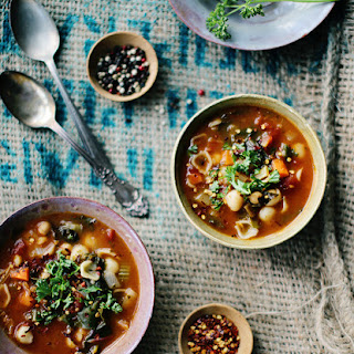 Chickpea And Vegetable Soup Recipes