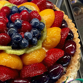 Summer Fruit Dessert Tart by Lope Piamonte Jr - Food & Drink Candy & Dessert