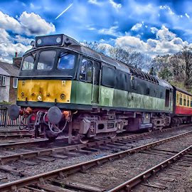 Diesel train by Dez Green - Transportation Trains ( passenger, diesel, nymr, trains, old train )