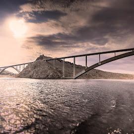 Krk bridge. by Darijan Mihajlovic - Buildings & Architecture Bridges & Suspended Structures (  )