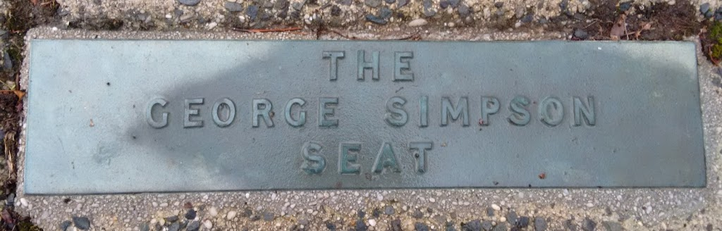 This site has this George Simpson seat and plaque, the Kathleen Jane Gilkison seat and plaque and the 1954 Royal Visit Direction Indicator and plaque.Transcription:The George Simpson seatSubmitted ...