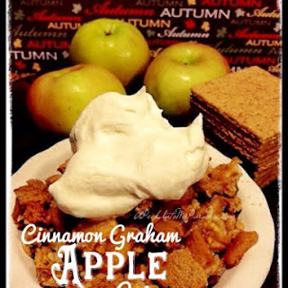 Cinnamon Graham Apple Crisp