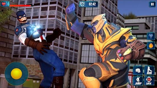 Thanos Vs Avengers Superhero Infinity Fight Battle for pc