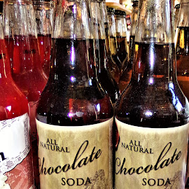 All Natural Chocolate Soda by Cheryl Beaudoin - Food & Drink Alcohol & Drinks ( real, chocolate, cocoa, drink, all natural, soda, natural )