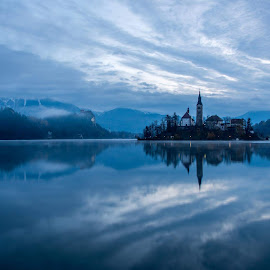 Lake Bled  by Joško Šimic - Landscapes Waterscapes