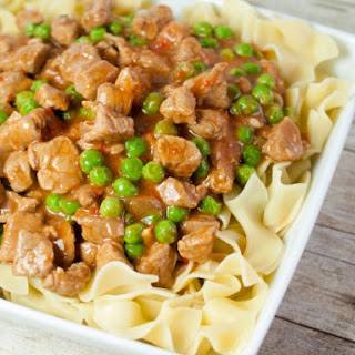 Hungarian Pork Goulash And Noodles
