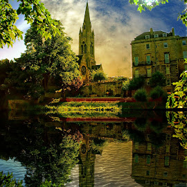 St John's Reflected....... by Quentin Robertson - Buildings & Architecture Places of Worship