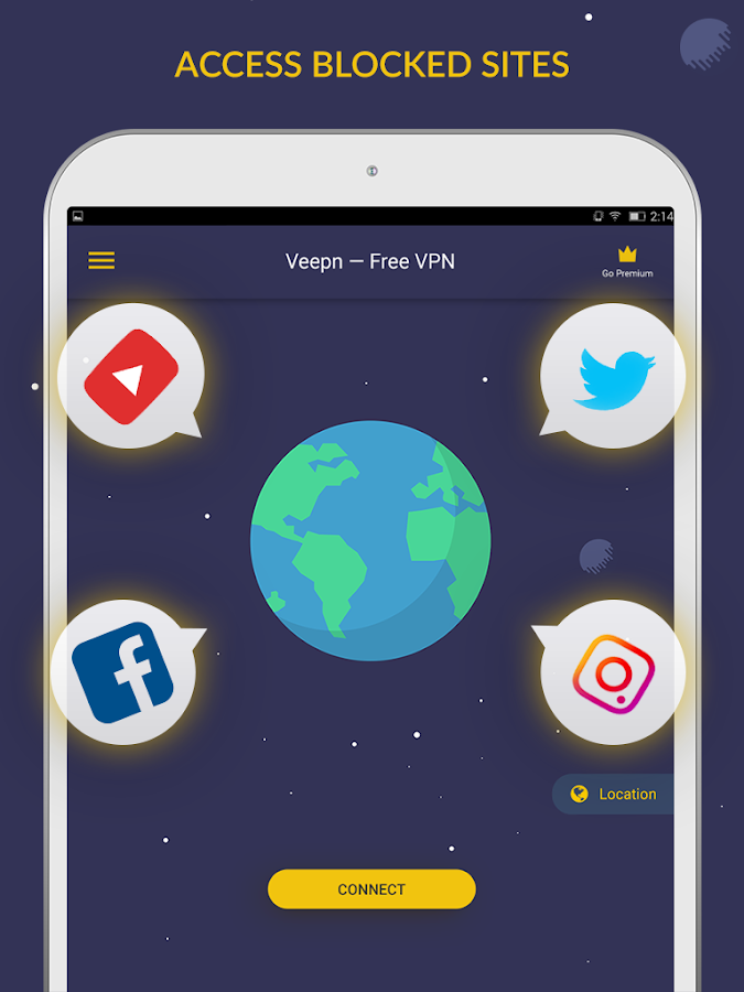 Free VPN by Veepn Screenshot 3