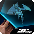 AR Hologram Flying Dragon APK for Bluestacks