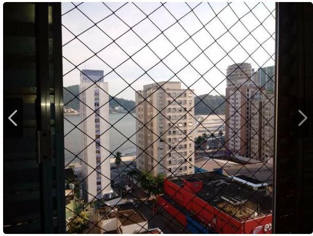 Kitnet com 1 dormitório à venda, 38 m² por R$ 128.000,00 - Itararé - São Vicente/SP