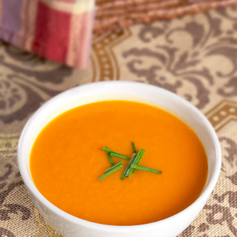 Spicy Tomato and Sweet Potato Soup