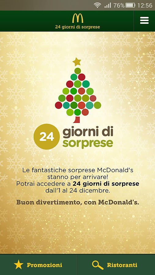 McDonald's Italia Screenshot 1