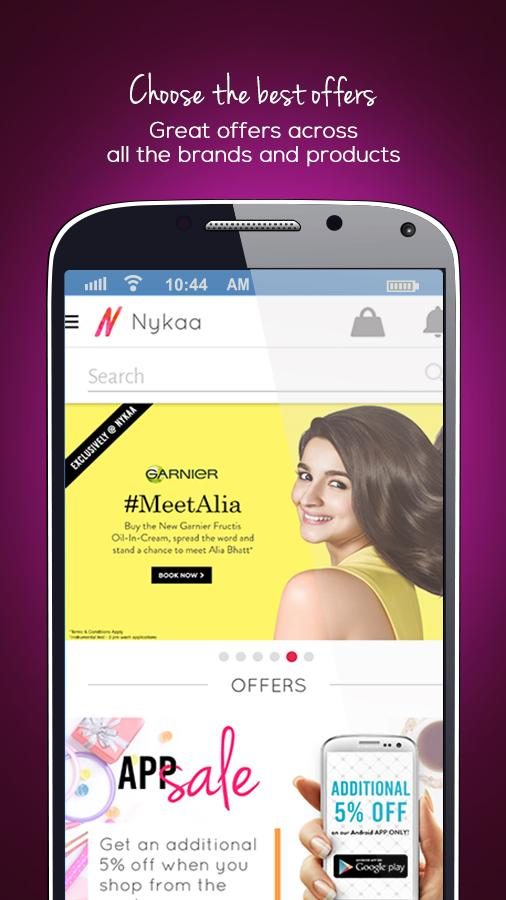 Nykaa - Beauty Shopping App Screenshot 0