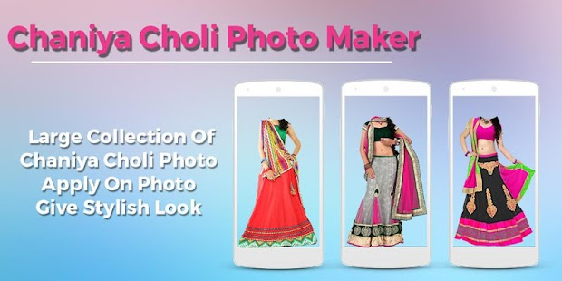 Women ChaniyaCholi Photo Maker