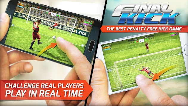 Final Kick: Online Football APK screenshot thumbnail 1