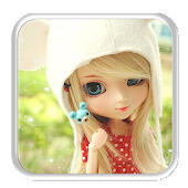 Cute Doll Live Wallpaper APK for Bluestacks