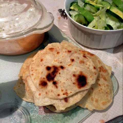 Quick & Easy Indian Flatbread (Roti)