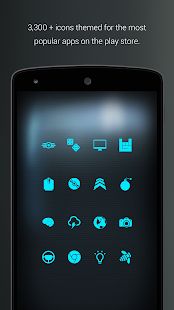 Pip-Tec Blue Icons & Live Wall- screenshot thumbnail
