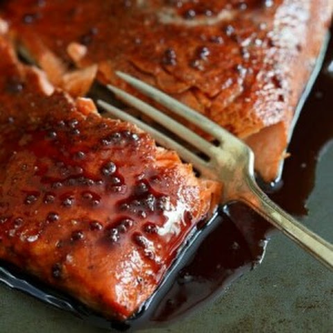 Tart Cherry Glazed Salmon